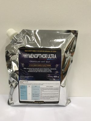 Hymenopthor Ultra Granular Ant Bait (click here)